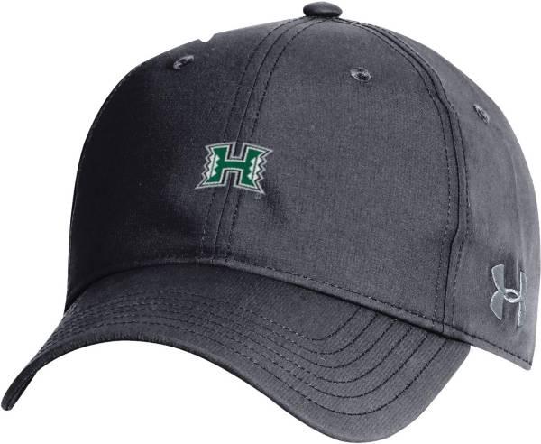 Under Armour Men's Hawai'i Warriors Black Performance 2.0 Adjustable Hat product image