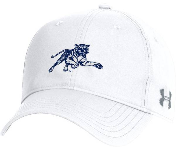 Under Armour Men's Jackson State Tigers White Performance 2.0 Adjustable Hat product image