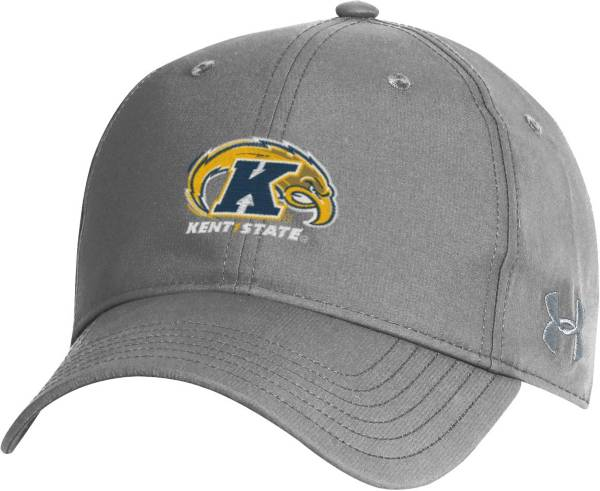 Under Armour Men's Kent State Golden Flashes Grey Performance 2.0 Adjustable Hat product image