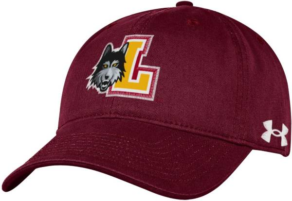Under Armour Men's Loyola-Chicago Ramblers Maroon Cotton Twill Adjustable Hat product image