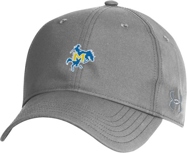 Under Armour Men's McNeese State Cowboys Grey Performance 2.0 Adjustable Hat product image