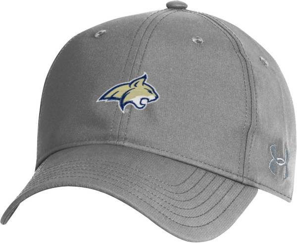 Under Armour Men's Montana State Bobcats Grey Performance 2.0 Adjustable Hat product image