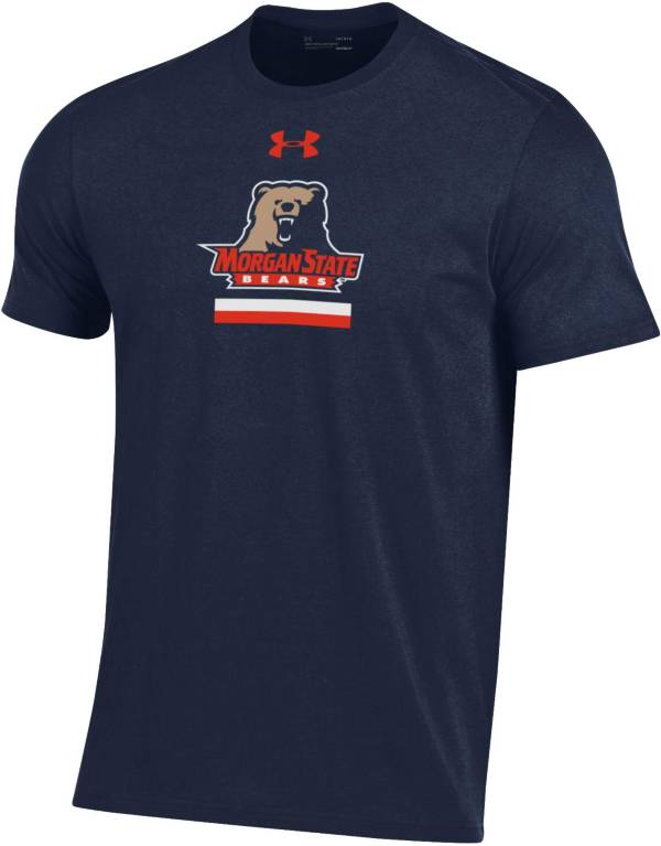 Under Armour Men's Morgan State Bears Blue Performance Cotton T-Shirt product image