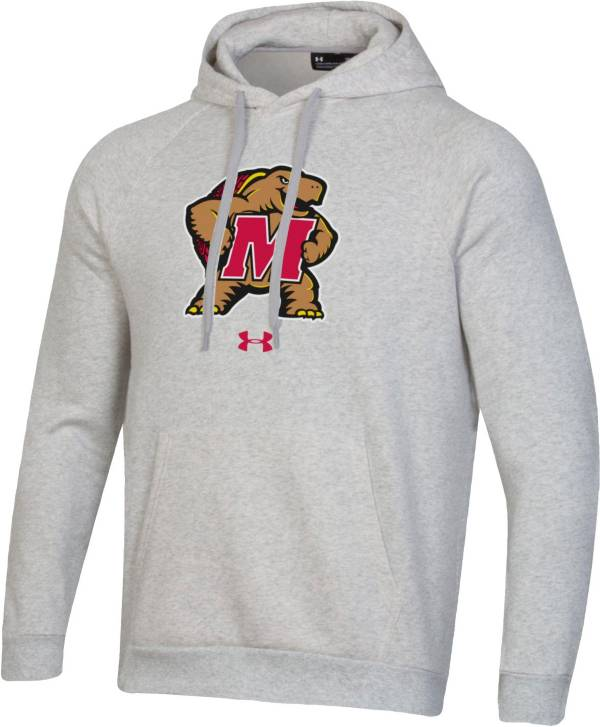 Under Armour Men's Maryland Terrapins Grey All Day Hoodie product image