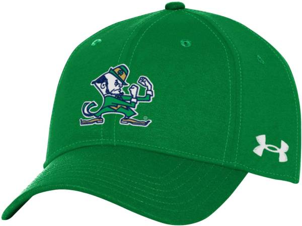 Under Armour Men's Notre Dame Fighting Irish Green Threadborne Closer Fitted Hat product image