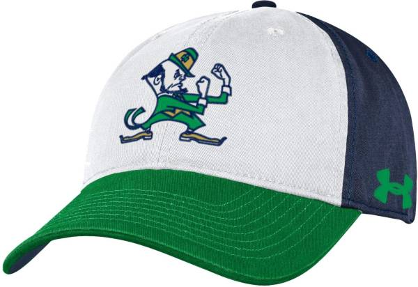 Under Armour Men's Notre Dame Fighting Irish White Cotton Twill Adjustable Hat product image