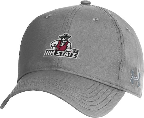 Under Armour Men's New Mexico State Aggies Grey Performance 2.0 Adjustable Hat product image