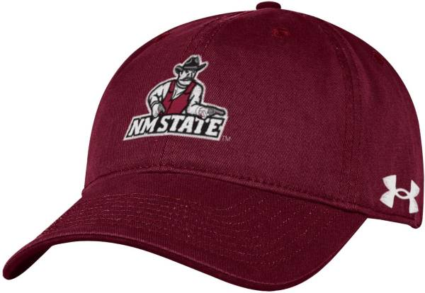 Under Armour Men's New Mexico State Aggies Crimson Cotton Twill Adjustable Hat product image