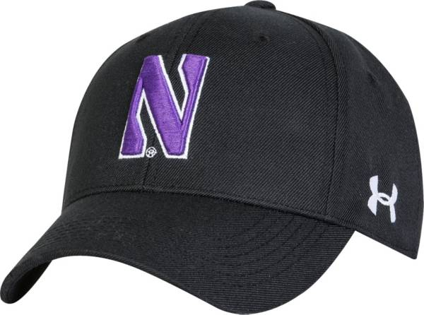 Under Armour Men's Northwestern Wildcats Black Adjustable Hat product image