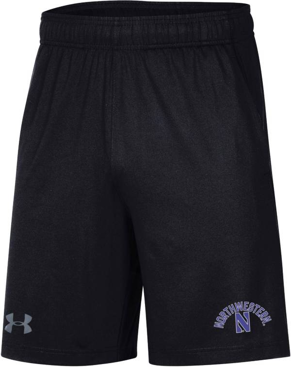 Under Armour Men's Northwestern Wildcats Black Raid Performance Shorts product image