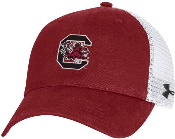 Under Armour Men's South Carolina Gamecocks Garnet Cotton Adjustable Trucker Hat product image