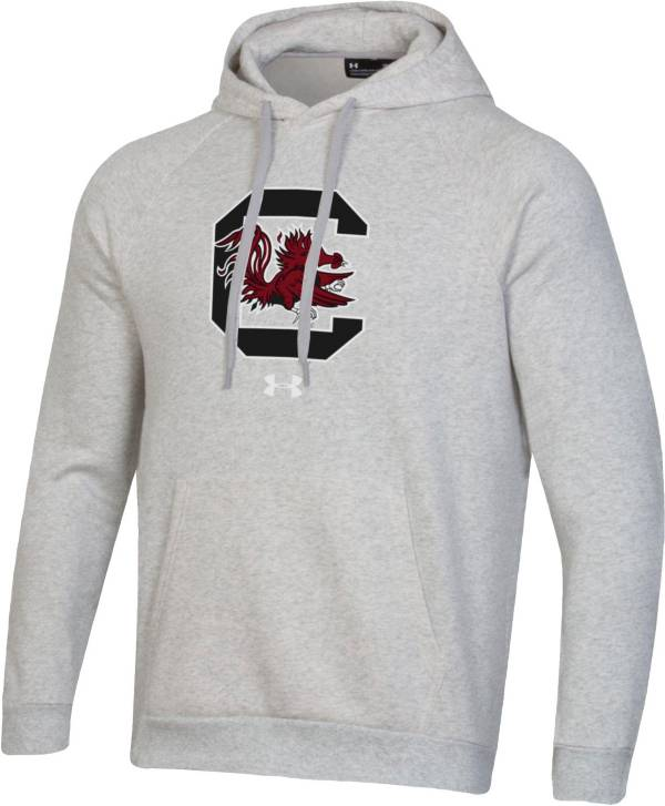 Under Armour Men's South Carolina Gamecocks Grey All Day Hoodie product image