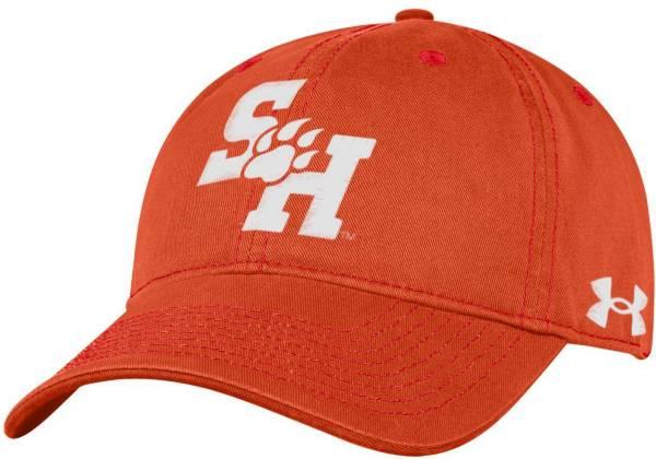 Under Armour Men's Sam Houston Bearkats Orange Cotton Twill Adjustable Hat product image