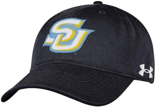 Under Armour Men's Southern University Jaguars Black Cotton Twill Adjustable Hat product image