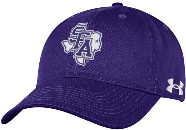 Under Armour Men's Stephen F. Austin Lumberjacks Purple Cotton Twill Adjustable Hat product image