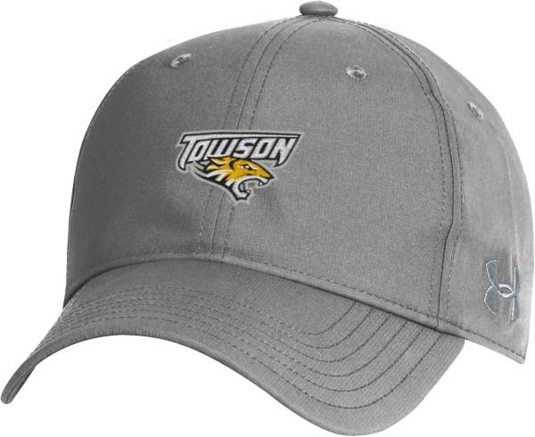 Under Armour Men's Towson Tigers Grey Performance 2.0 Adjustable Hat product image