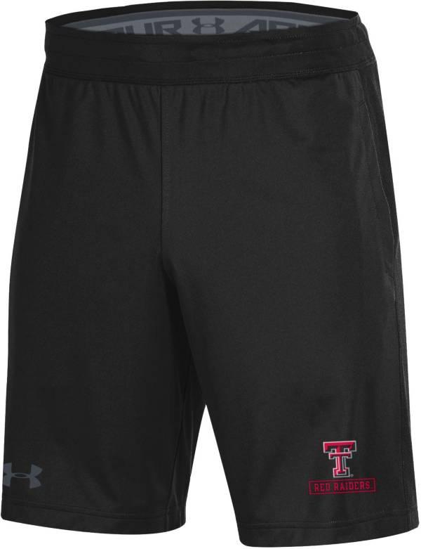 Under Armour Men's Texas Tech Red Raiders Black Raid Performance Shorts product image