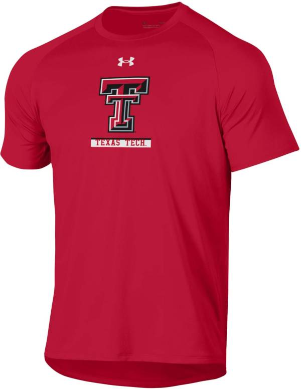 Under Armour Men's Texas Tech Red Raiders Red Tech Performance T-Shirt product image