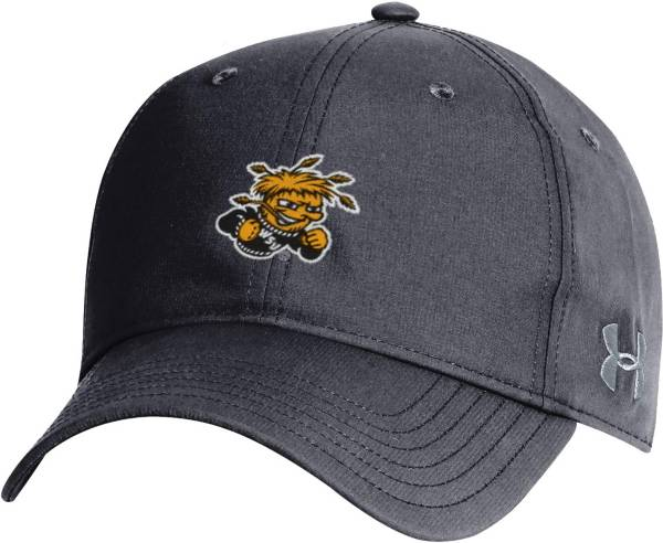 Under Armour Men's Wichita State Shockers Black Performance 2.0 Adjustable Hat product image