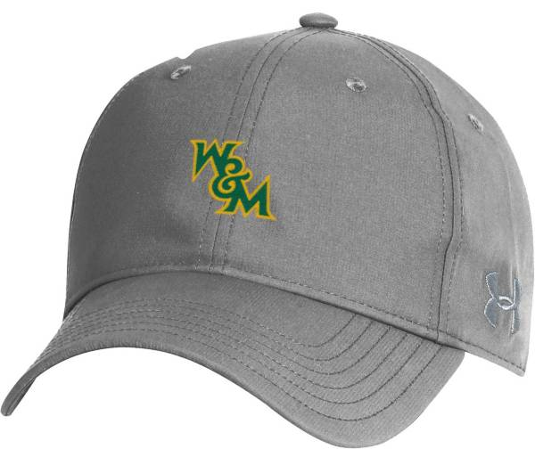 Under Armour Men's William & Mary Tribe Grey Performance 2.0 Adjustable Hat product image