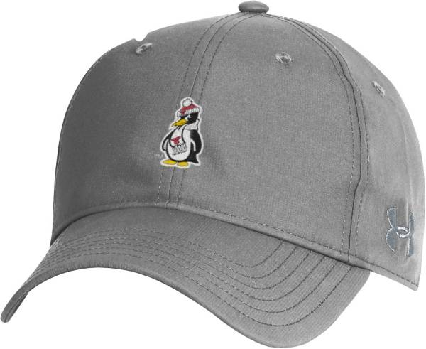 Under Armour Men's Youngstown State Penguins Grey Performance 2.0 Adjustable Hat product image