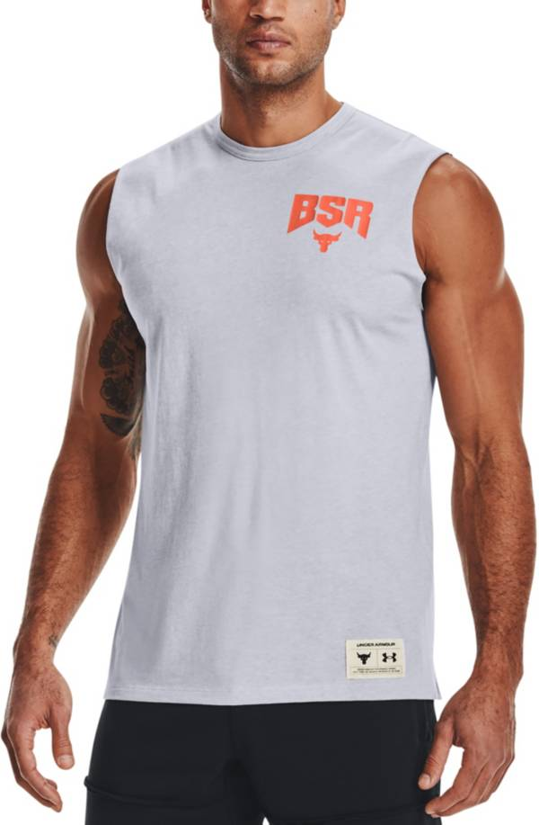 Under Armour Men's Project Rock Show Your BSR Sweat Activated Graphic Tank Top product image