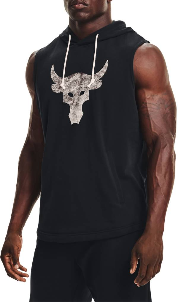 Under Armour Men's Project Rock Terry Sleeveless Hoodie product image