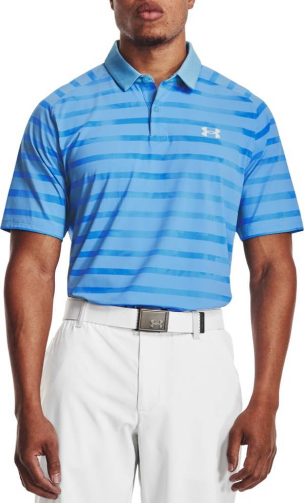 Under Armour Men's Iso-Chill Floral Stripe Golf Polo product image