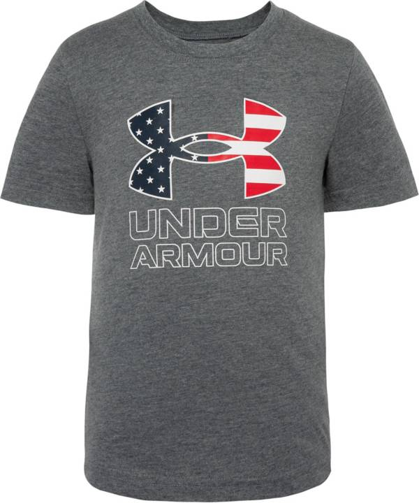Under Armour Little Boys' Americana Big Logo Graphic T-Shirt product image