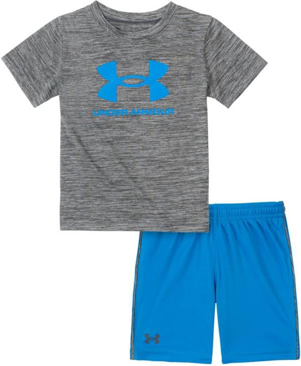 Under Armour Little Boys' Twist Big Logo T-Shirt and Shorts Set product image