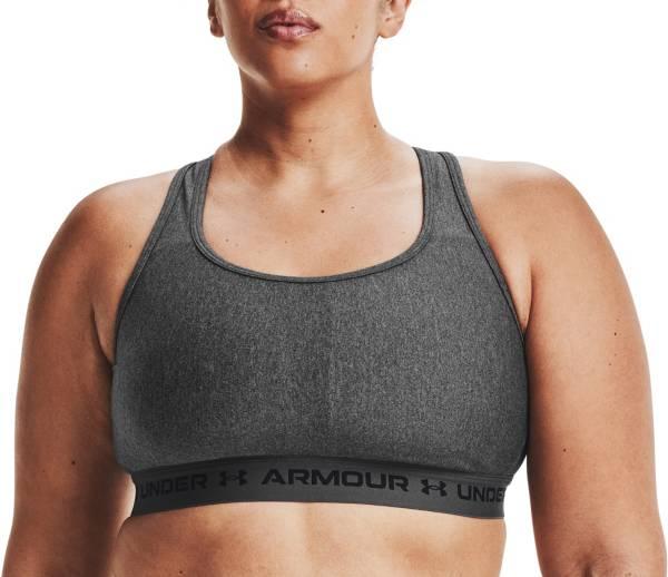 Under Armour Women's UA Mid Heather Crossback Medium Impact Sports Bra product image