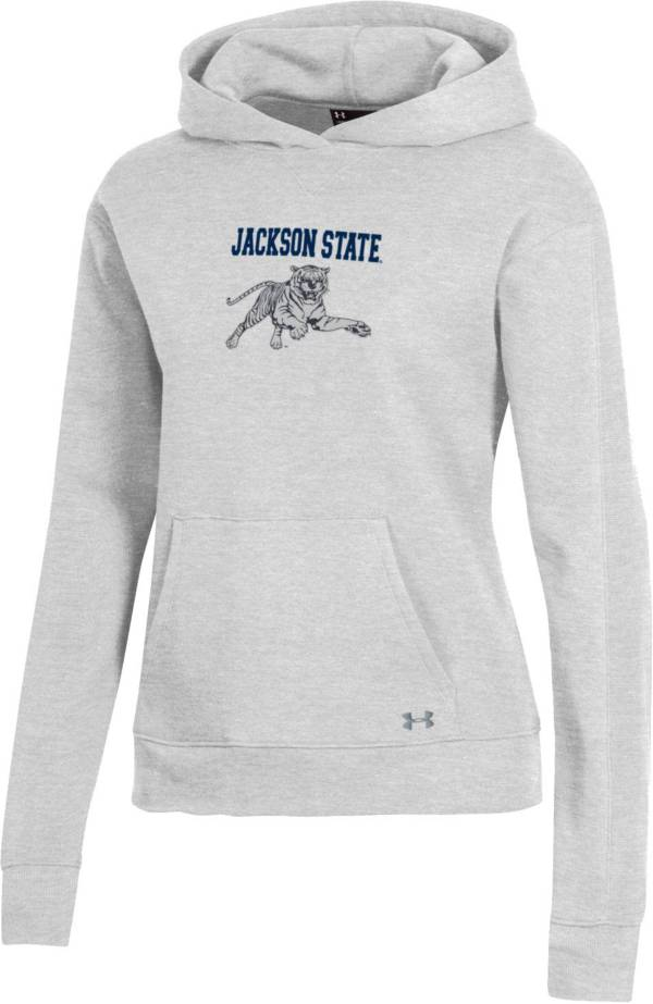 Under Armour Women's Jackson State Tigers Grey All Day Hoodie product image