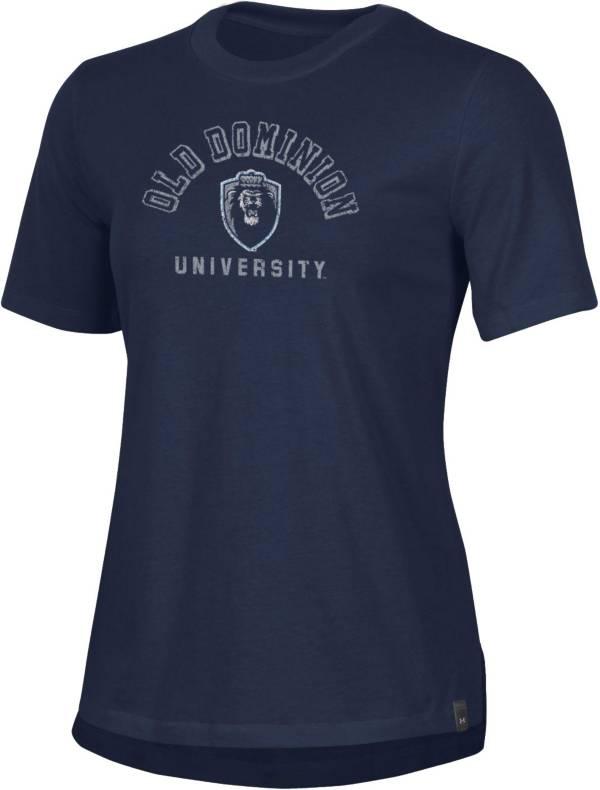 Under Armour Women's Old Dominion Monarchs Blue Performance Cotton T-Shirt product image