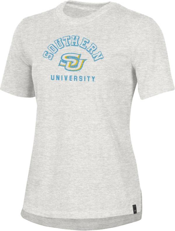 Under Armour Women's Southern University Jaguars Grey Performance Cotton T-Shirt product image