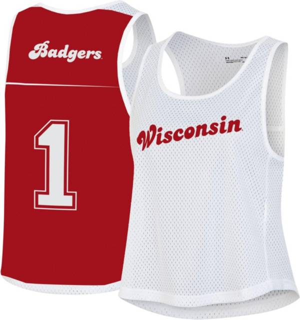 Under Armour Women's Wisconsin Badgers Red Gameday Performance Pinnie product image