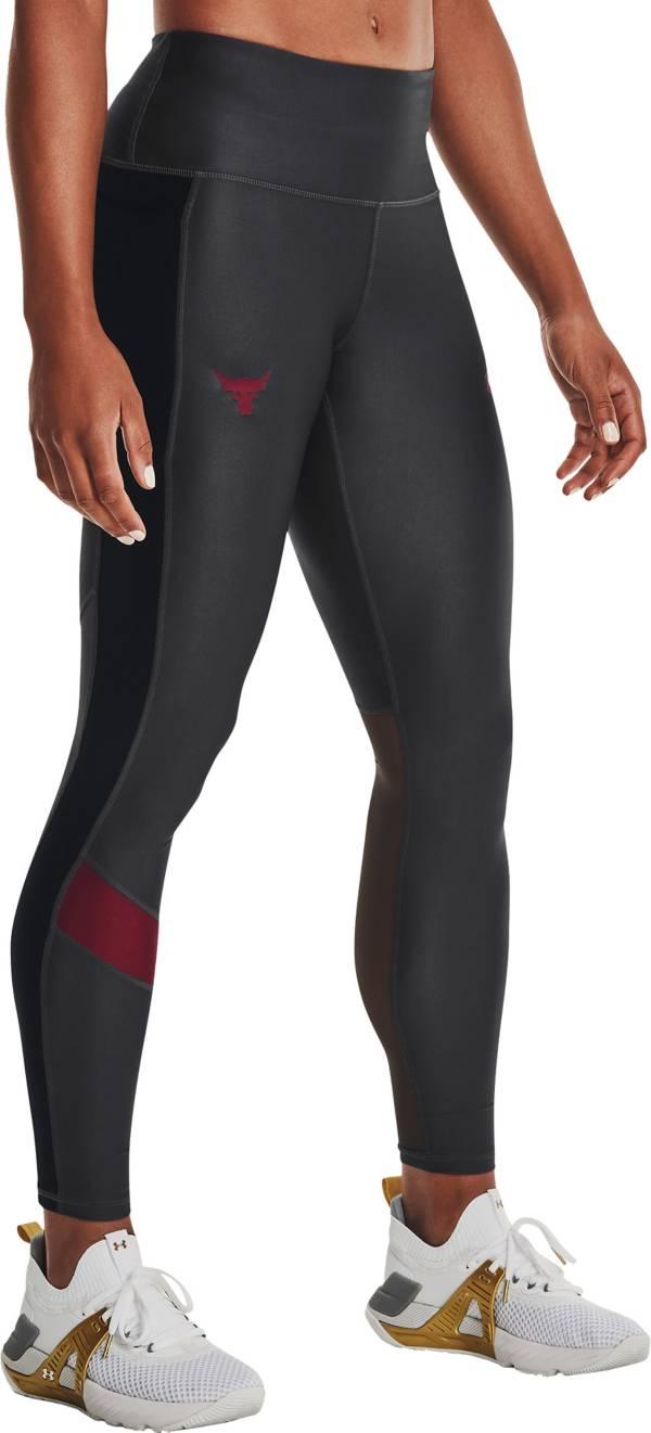 Under Armour Women's Project Rock HeatGear No-Slip Leggings product image