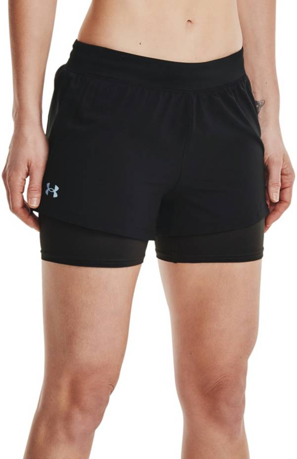 Under Armour Women's Iso-Chill Run 2-in-1 Shorts product image