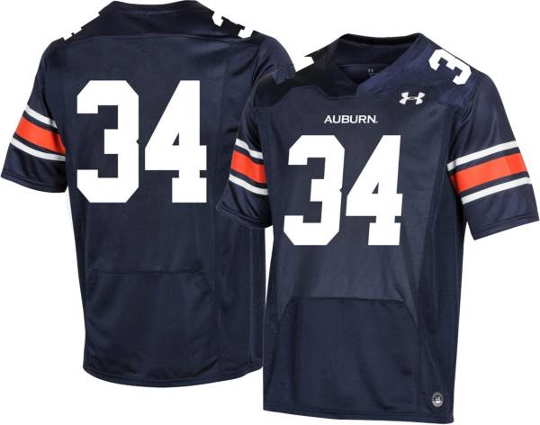 Under Armour Youth Auburn Tigers #34 Blue Replica Football Jersey product image
