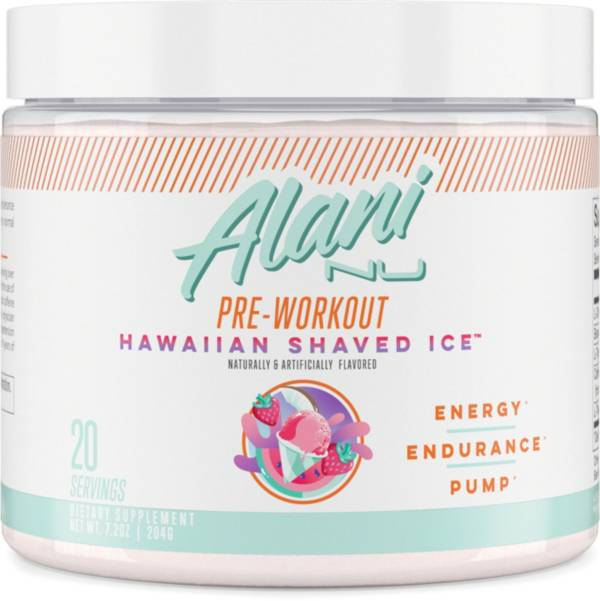 Alani Nu Pre-Workout Hawaiian Shaved Ice 20 Servings product image