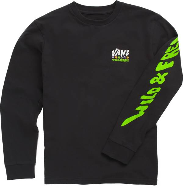 Vans Boys' Parks Project SK8 Free Long Sleeve Shirt product image