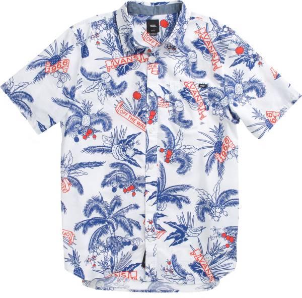 Vans Men's Market Print Woven Button Down Shirt product image