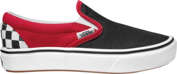 Vans Kids' Grade School Classic Slip-On Check Platform Shoes product image