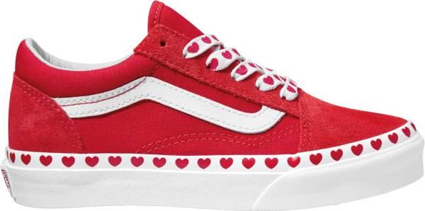 Vans Kids' Grade School Old Skool Heart Shoes product image
