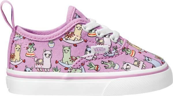 Vans Kid's Preschool Authentic Pink Llama Shoes product image
