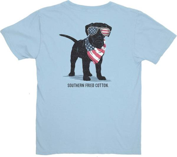 Southern Fried Cotton Boys' American Puppy Short Sleeve Graphic T-Shirt product image