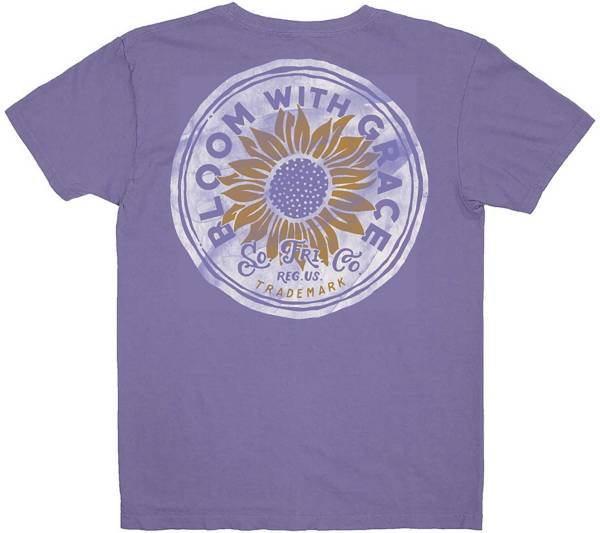 Southern Fried Cotton Girls' Bloom with Grace Short Sleeve Graphic T-Shirt product image