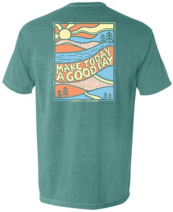 Southern Fried Cotton Women's Good Days Short Sleeve Graphic T-Shirt product image