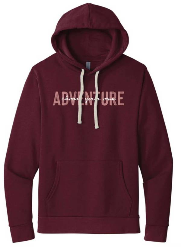 Up North Trading Company Women's Maroon Choose Your Own Adventure Hoodie product image