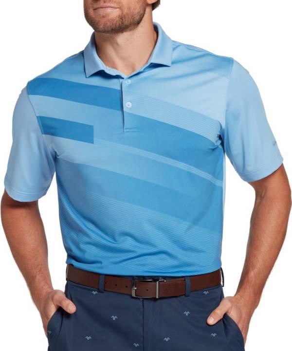 Walter Hagen Men's Slant Stripe Golf Polo product image
