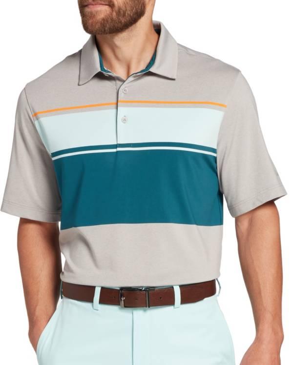 Walter Hagen Men's Perfect 11 Yarn Dye Chest Stripe Golf Polo product image
